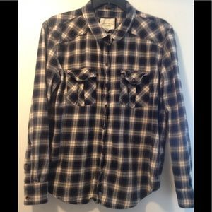 Forever 21 flannel cotton shirt - large